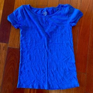 Jcrew blue top